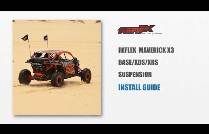 Reflex Suspension For Maverick X3 BASE/XDS/XRS