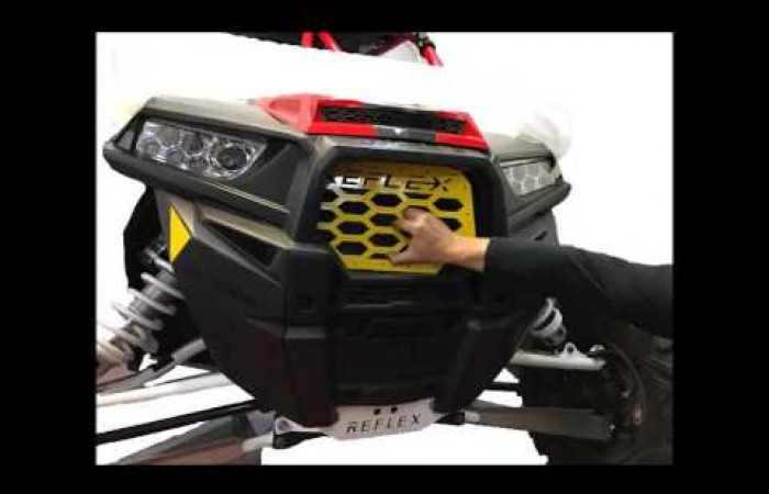 Reflex RZR 1000/TURBO Front Grill Install Guide