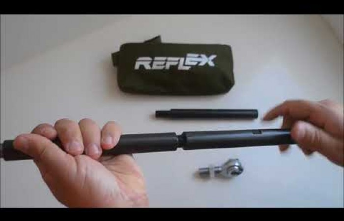 Reflex Folded Radius Rods